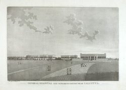 General Hospital and Surgeons House near Calcutta